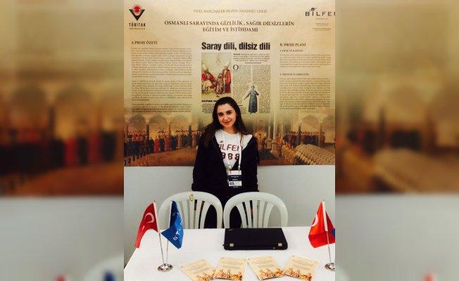 Bilfen öğrencisi Soyyiğit'in tarih projesi TÜBİTAK'tan ödül aldı