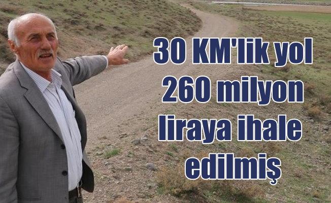 Bingöl Sancak Erzincan arasında 'Yol' bilmecesi