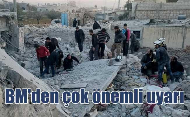 BM'den kritik uyarı; 2 milyon Suriyeli Türkiye'ye akın edebilir