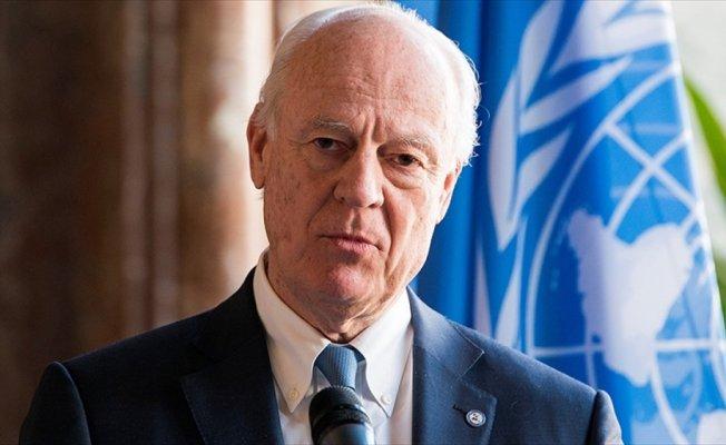 BM Suriye Özel Temsilcisi Mistura Ankara'da