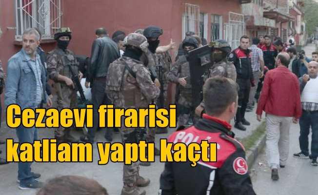 Bursa'da dehşet; Cezaevi firarisi kayınpederini öldürdü