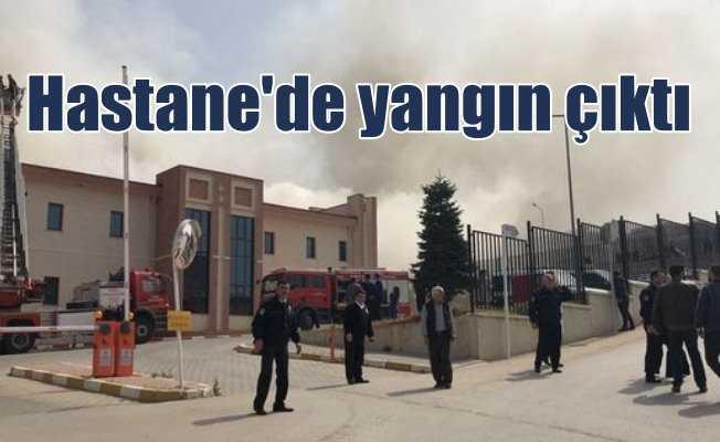 Bursa Ruh ve Sinir Hastalıkları Hastanesi'nde yangın
