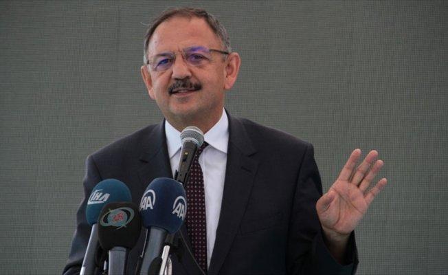 Çevre ve Şehircilik Bakanı Özhaseki: Şimdi Afrin'de hayatı normal hale getiriyoruz