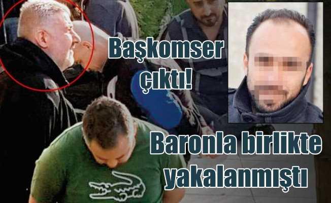 Cinayet Büro komiseri uyuşturucu baronuyla yakalandı