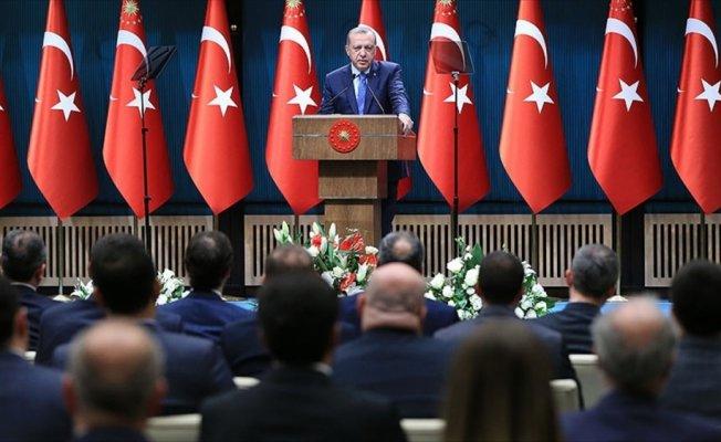 Cumhurbaşkanı Erdoğan avukatlarla bir araya geldi