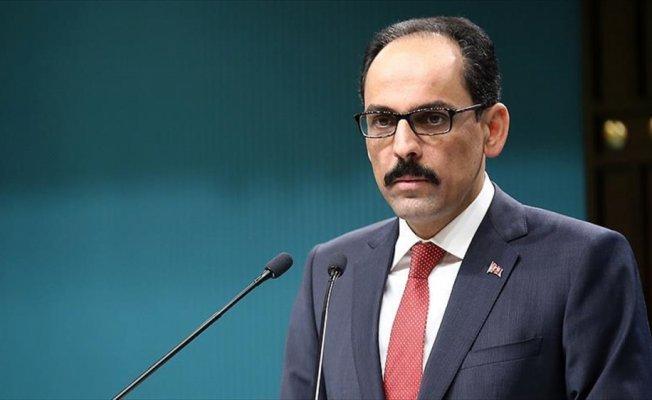 Cumhurbaşkanlığı Sözcüsü Kalın'dan Anadolu Ajansına kutlama