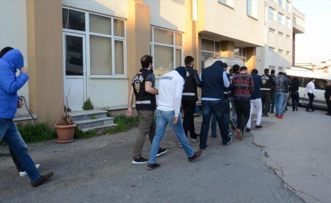 Derbi sonrası gözaltına alınan 18 kişi adliyeye sevk edildi
