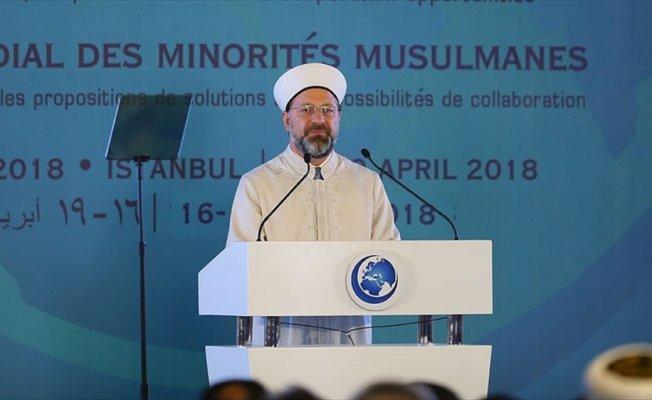 Diyanet İşleri Başkanı Prof. Dr. Erbaş: Temel insan haklarından herkesin yararlanması önemlidir