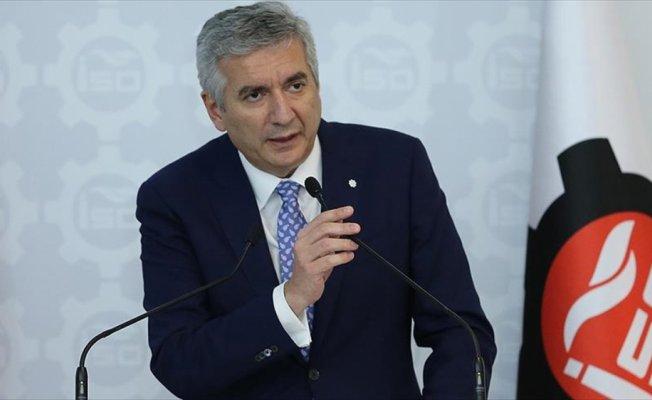 Erdal Bahçıvan yeniden İSO Başkanı seçildi