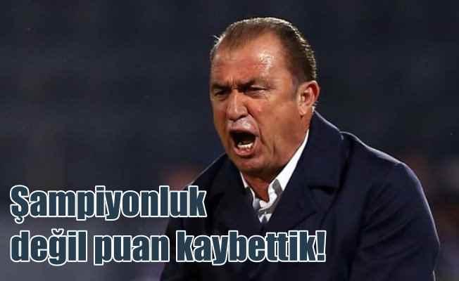 Fatih Terim 1-0 yenilgi için: Şampiyonluğu değil puan kaybettik