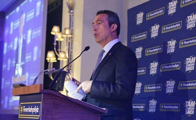 Fenerbahçe Başkan adayı Ali Koç hedeflerini açıkladı