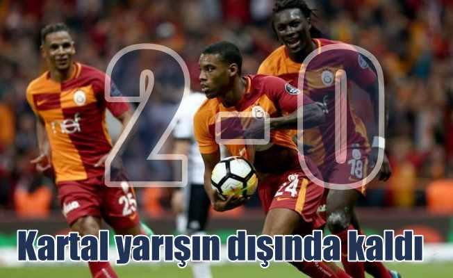 Galatasaray evinde Beşiktaş'ı 2-0 yendi