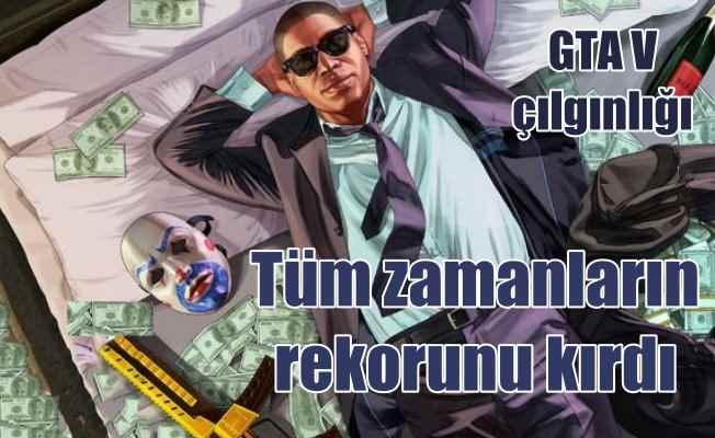 GTA V satış rekorlarını alt üst etti