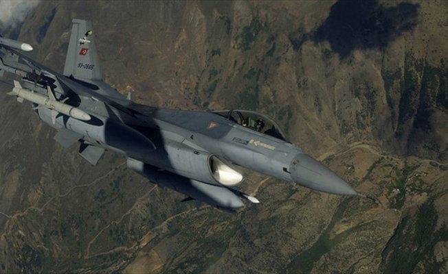 Irak'ın kuzeyine hava harekatı: 7 terörist etkisiz hale getirildi