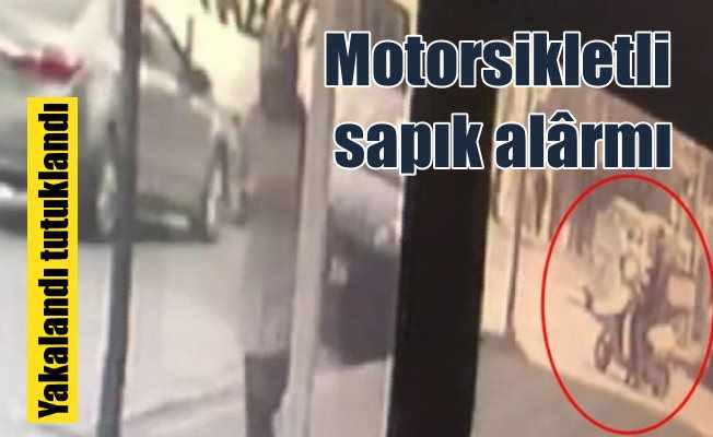 İstanbul'da motorsikletli sapık alarmı: Yakalındı tutuklandı