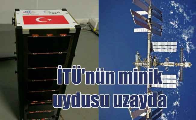 İTÜ'nün minik uydusu Ubuksat uzaya gönderildi