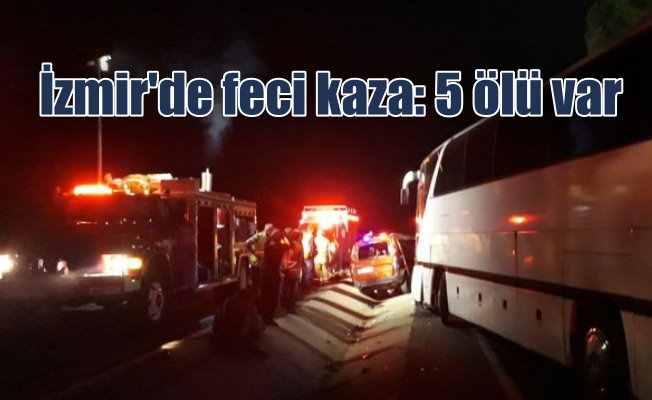 İzmir Dikili'de feci kaza: Karabulut ailesinden 5 kişi can verdi