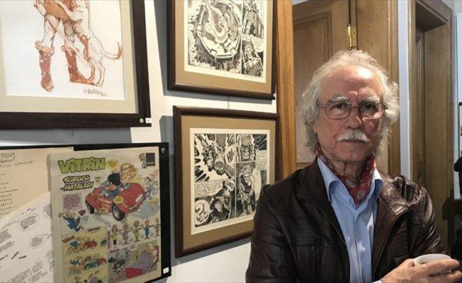 Kadıköy'de '80'li Yıllardan Çizgiler' karikatür sergisi açıldı