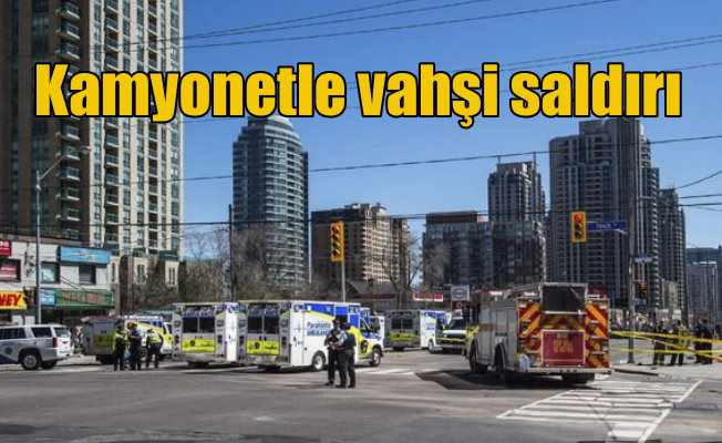 Kanada'da vahşi saldırı: Yayaların arasına giren kamyonet 11 can aldı