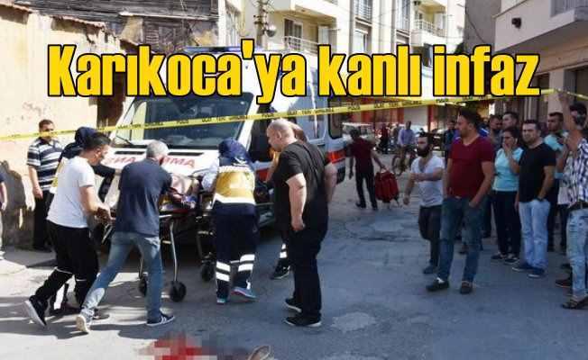 Karı-koca sokak ortasında katledildi