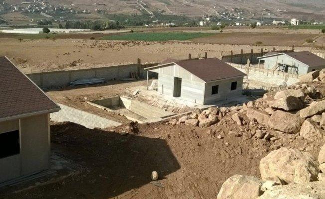 Karmod Prefabrik Filistin'de hazır konut kurdu