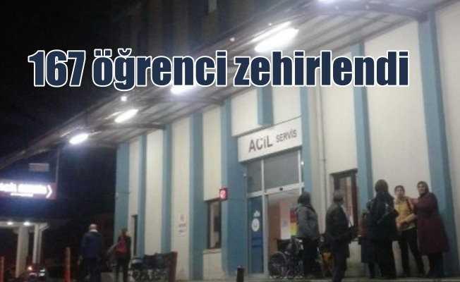 Kütahya'da öğrenciler zehirlendi: 167 kiyi hastanelik oldu