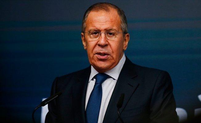 Lavrov'dan Suriye'deki kimyasal saldırıya 'tezgah' nitelemesi