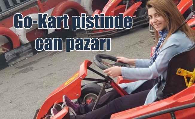 Liseli Havvanur hayat mücadelesi veriyor: Go Kart pistinde fular kazası