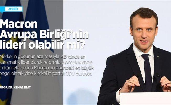 Macron Avrupa Birliği'nin lideri olabilir mi?