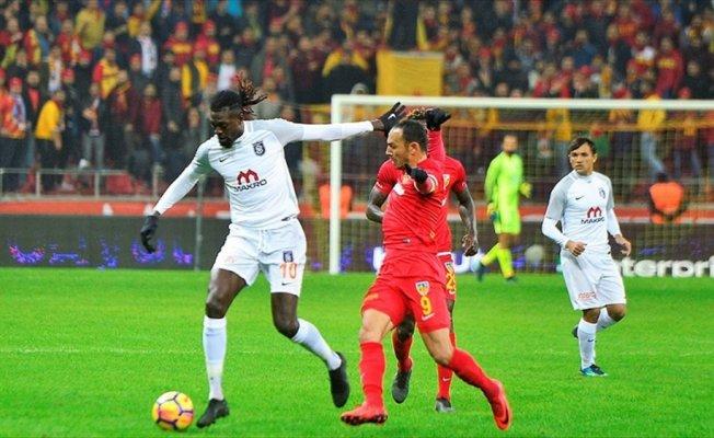 Medipol Başakşehir'in konuğu Kayserispor
