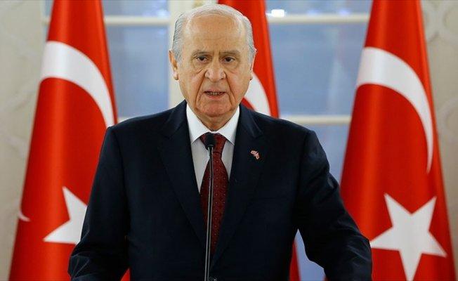 MHP Genel Başkanı Bahçeli: Cumhurbaşkanı adayımız Sayın Recep Tayyip Erdoğan'dır