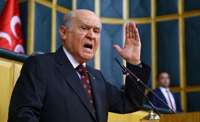 MHP Genel Başkanı Bahçeli: Sırtımızdan geçinmelerine asla izin verilmemeli