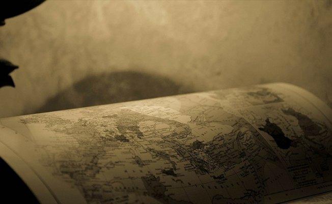 Mısır'da 'tarihi' Filistin haritası ele geçirildi