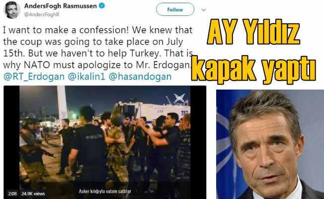NATO Genel Sekreteri'nin hesabını AY Yıldız hackledi
