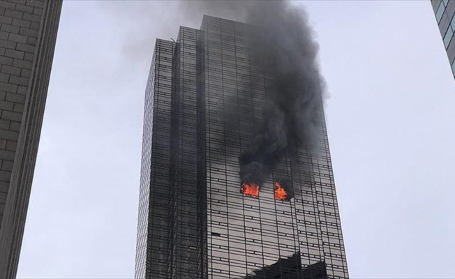 New York'ta Trump Tower'da yangın: 1 ölü