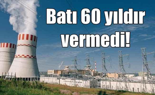 Nükleer santrali batı 60 yıl vermedi, Rusya inşaa ediyor