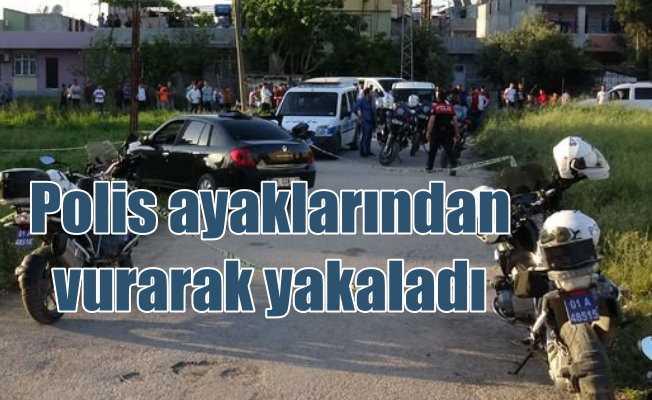 Polisin üstüne araç süren iki sabıkalı vurularak yakalandı