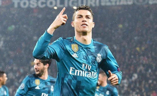 Real Madrid'in kazandığı maçta Ronaldo tarihe geçti
