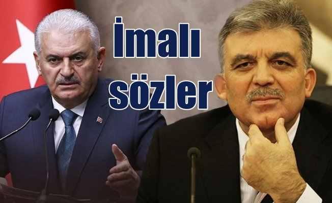 Seçim 2018:  Binali Yıldırım'dan Abdullah Gül için flaş sözler