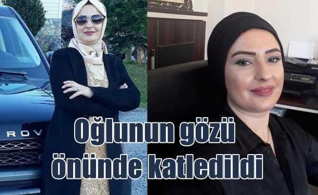 Serpil Ertekin cinayeti: Oğlunun gözü önünde katledildi
