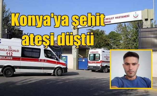 Seydişehirli Uzman Çavuş İsmail Cesur Lice'de şehit düştü