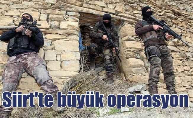 Siirt'te operasyon: Jandarma o teröristlerin peşinde