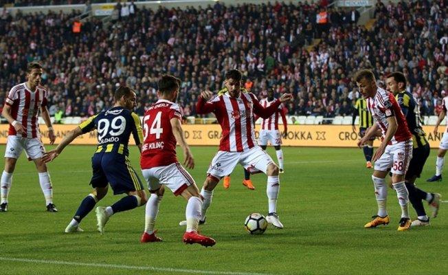 Sivasspor seriyi sürdüremedi