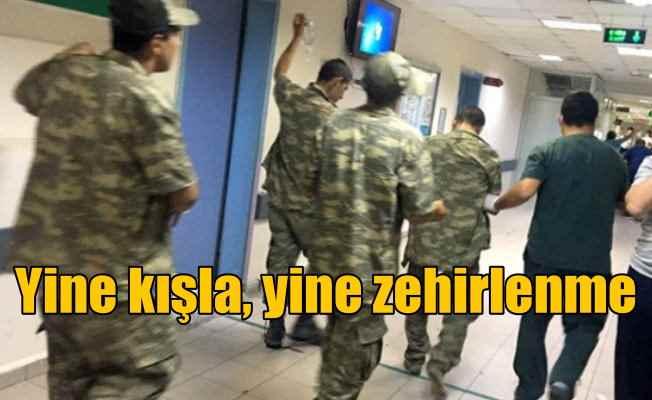 Son Dakika Antalya; Çok sayıda asker hastanelik oldu