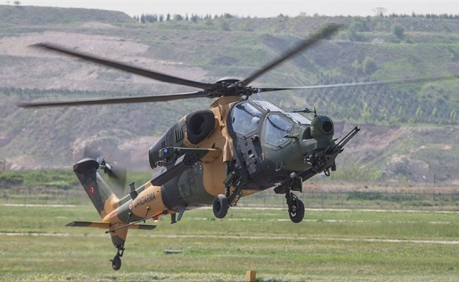 T129 ATAK helikopterleri Jandarmaya teslim edildi