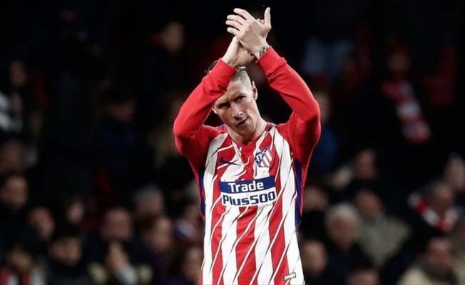 Torres, Atletico Madrid'e 'elveda' dedi