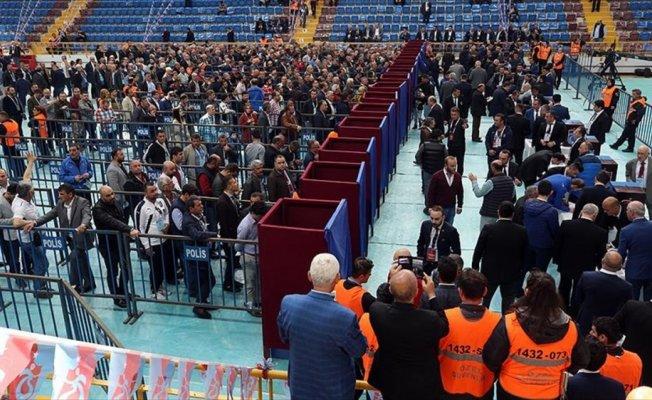 Trabzonspor'un genel kurulunda oy verme işlemi başladı