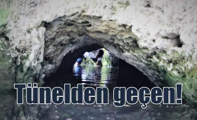Tünelin içinden geçen sıkıntılardan kurtuluyormuş