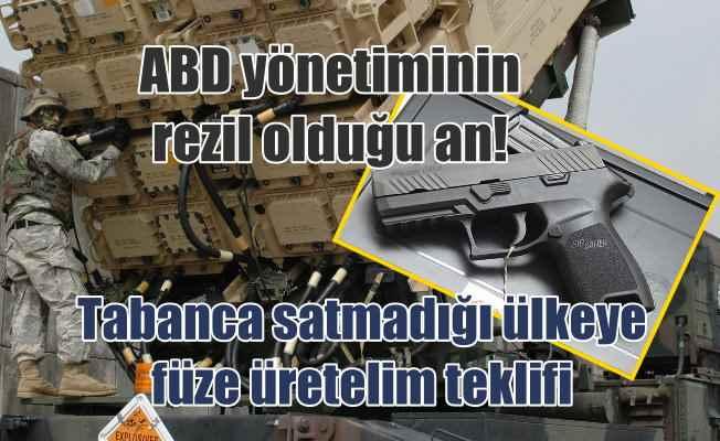 Türkiye'ye tabanca bile satmayan ABD'den ortak füze üretimi teklifi