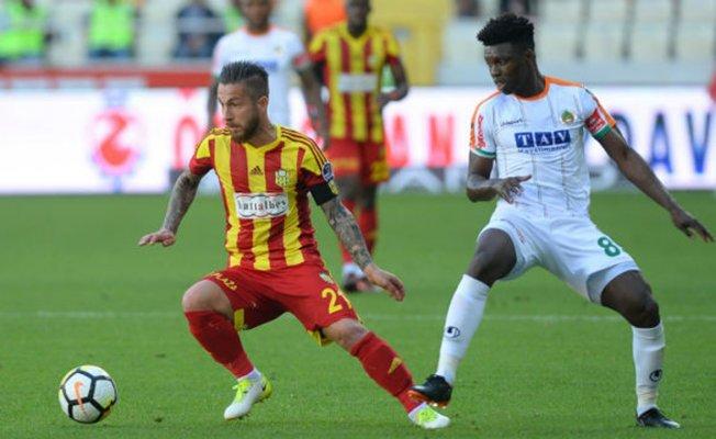Yeni Malatyaspor 1- Alanyaspor 1